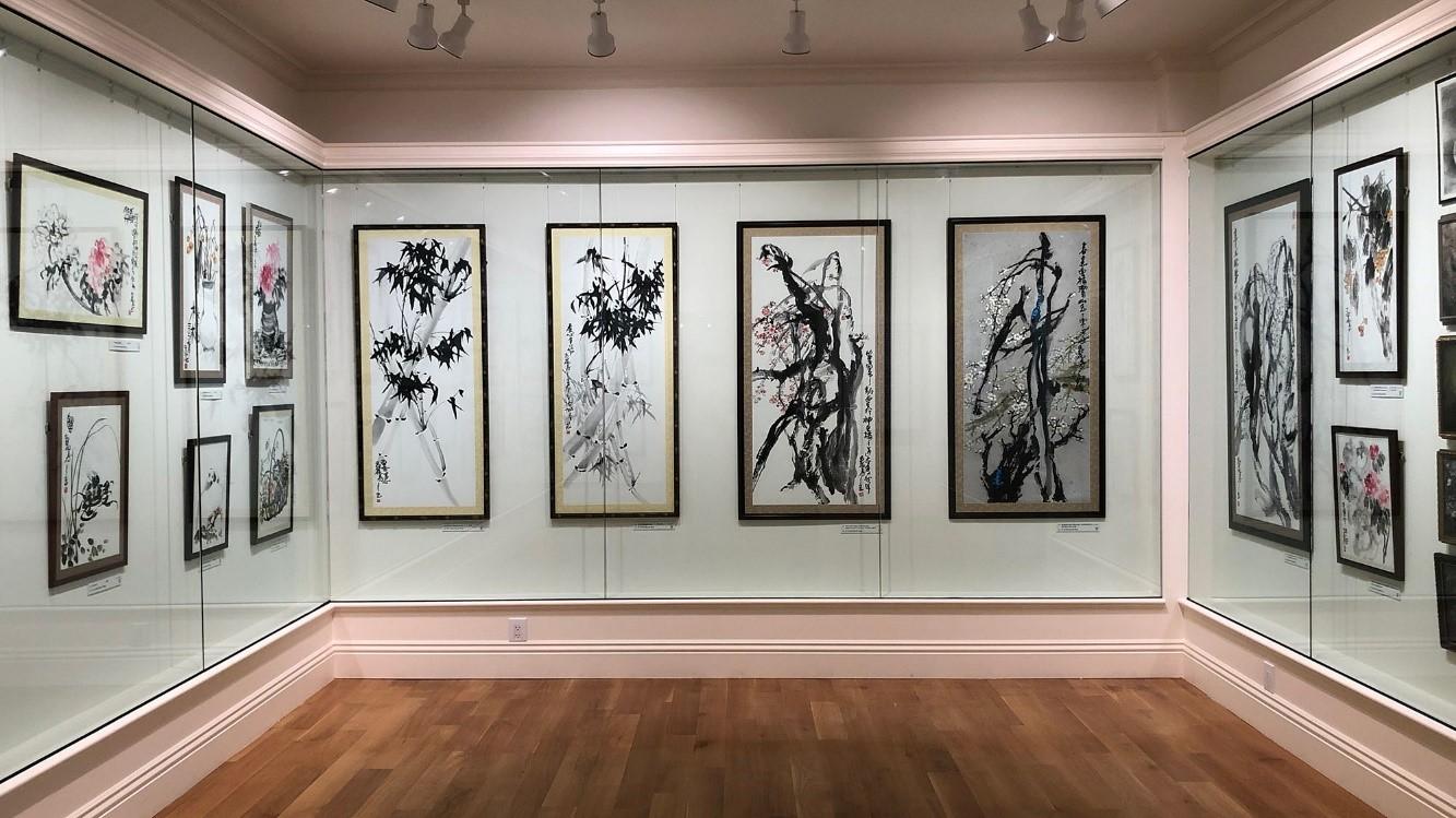 美國國際藝術館(IAMA)內的東方展品